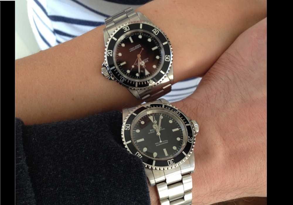 Mrs & Mrs J - Rolex Submariners