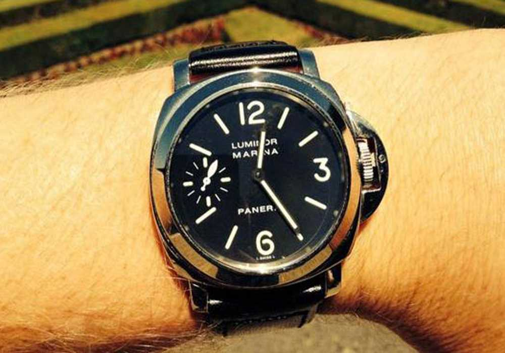 Jon Peck - Panerai Luminor 001