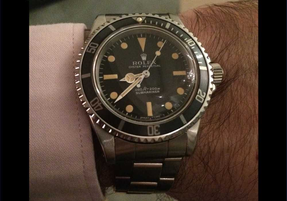 Neil M - Rolex 5513 Submariner