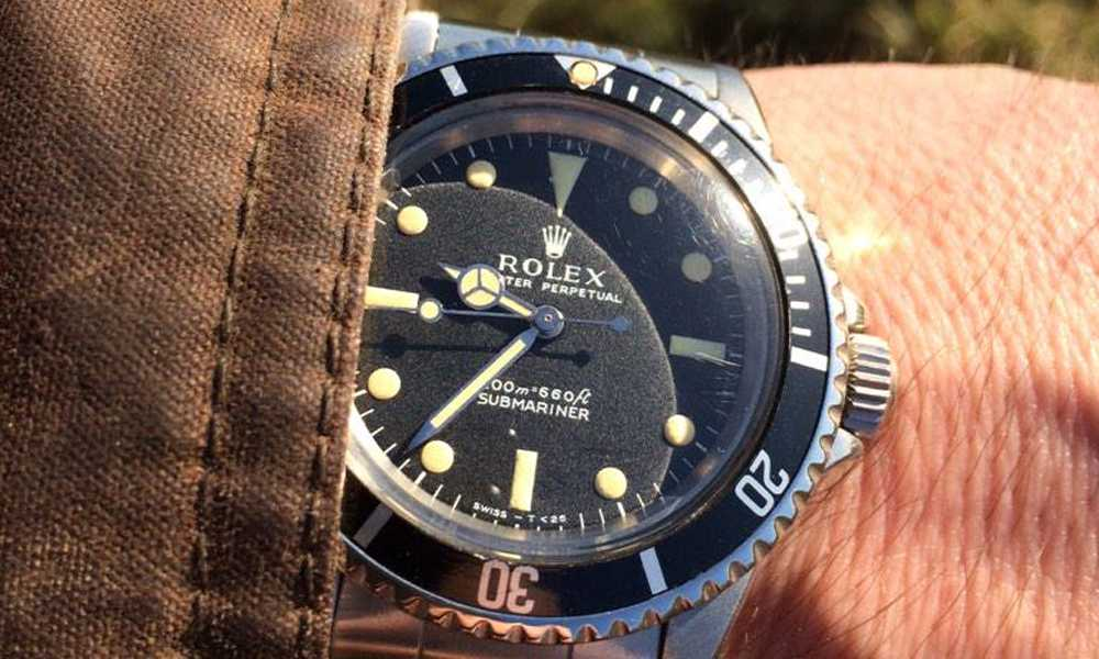 Mark M C - Rolex 5513 Submariner