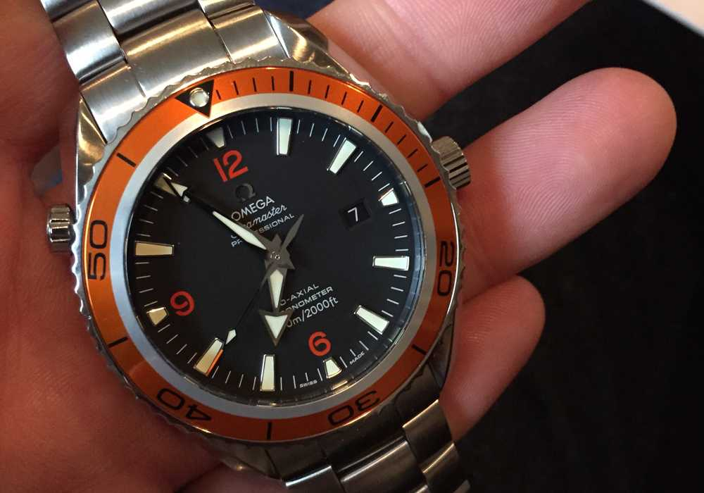 Piers B - Omega Seamaster Planet Ocean