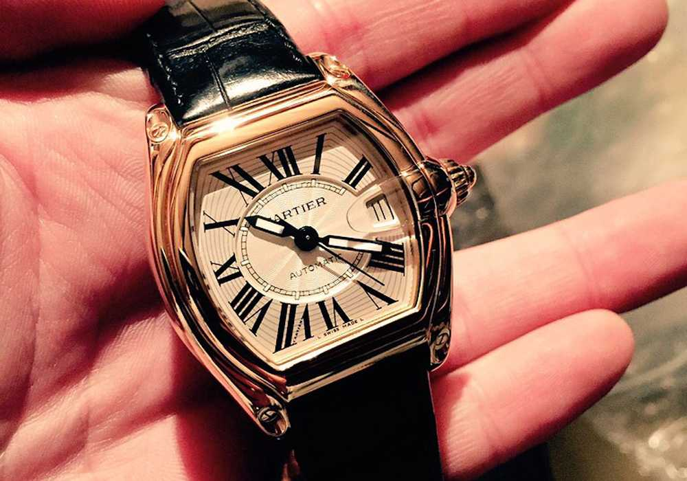 Trevor - Cartier Roadster Rose Gold