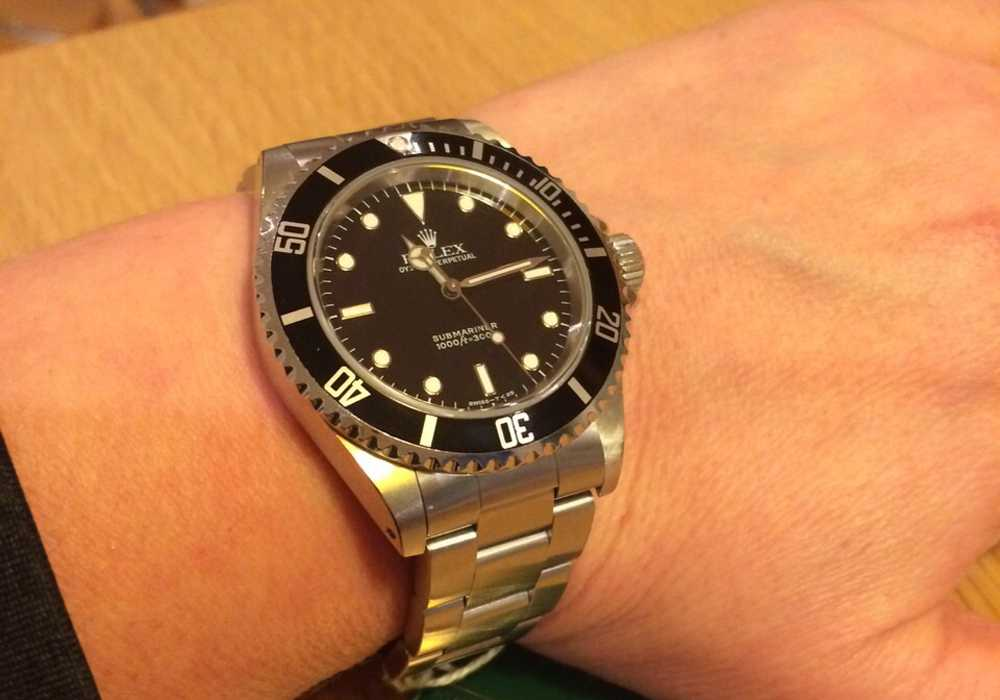 Roseanne - Rolex Submariner